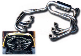 Volcano Factory Porsche 993 Racing Exhaust Muffler