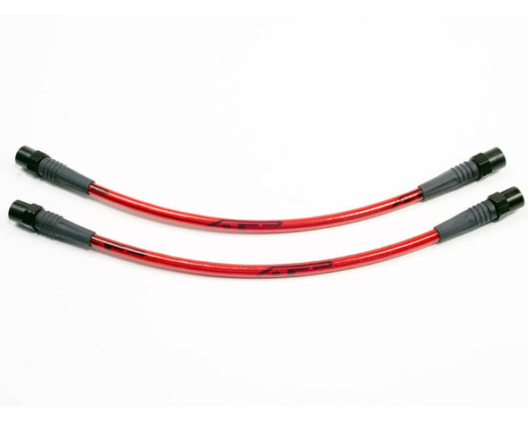 Agency Power Front Steel Braided Brake Lines Porsche 986 / 987 | 996 / 997