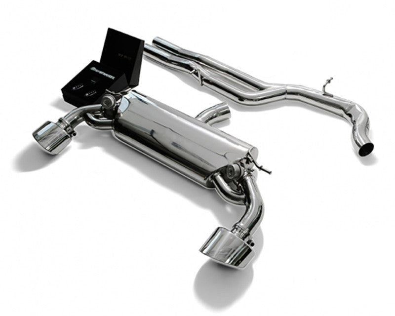 ARMYTRIX Stainless Steel Valvetronic Catback Exhaust System Dual