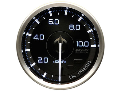 Defi Advance A1 60mm Oil Pressure Gauge