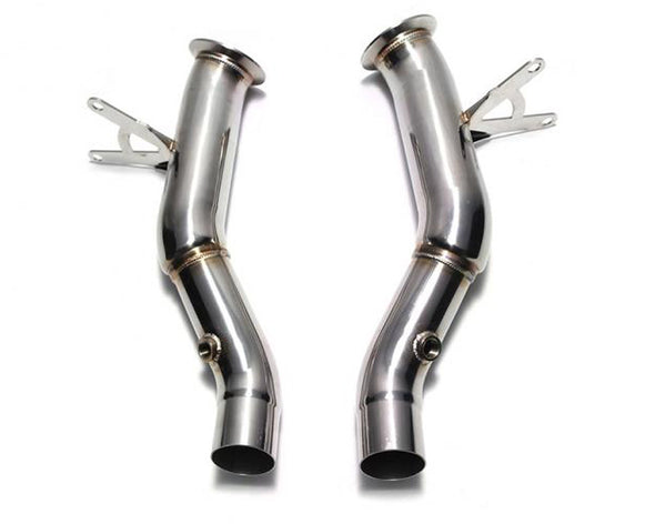 ARMYTRIX High-Flow Cat-Pipe With 200 CPSI Catalytic Converter Ferrari 458 Italia | Spider 10-15