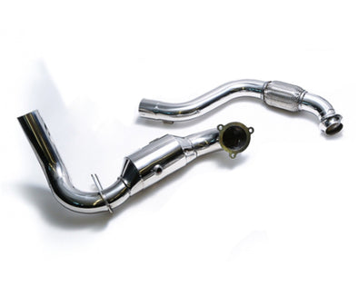 ARMYTRIX High-Flow Performance Race Downpipe | Link Pipe Mercedes-Benz A-Class | CLA-Class 13-17