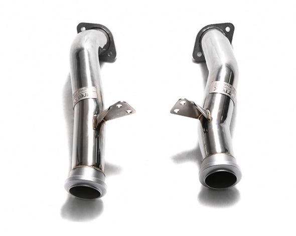ARMYTRIX Ceramic Coated Sport Cat-Pipe with 300 CPSI Catalytic Converter Mercedes-Benz C400 | C43 AMG W205 15-17