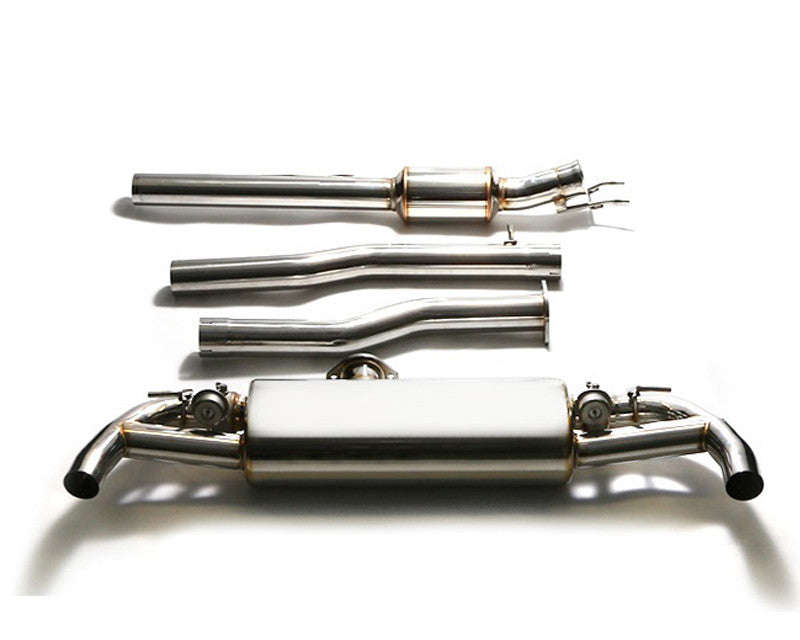 ARMYTRIX Stainless Steel Valvetronic Catback Exhaust System Mercedes-Benz GLA45 AMG X156 14-17
