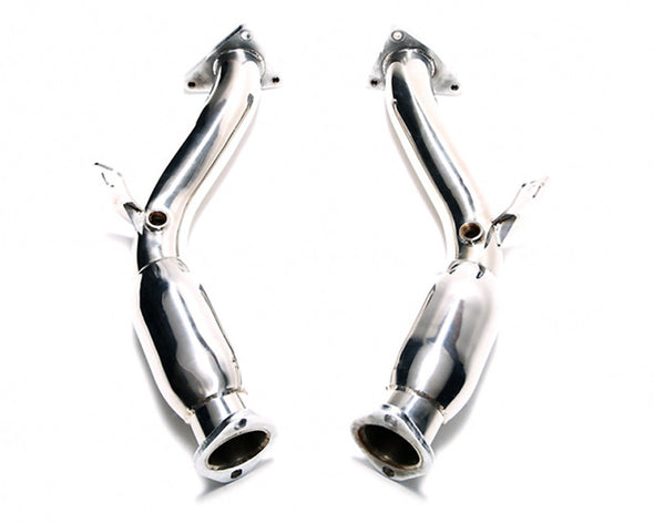 ARMYTRIX Ceramic Coated Sport High-Flow Cat-Pipe With 200 Copse Catalytic Converters Nissan 370Z 09-17