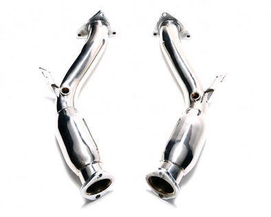 ARMYTRIX Ceramic Coated Sport High-Flow Cat-Pipe With 200 Copse Catalytic Converters Infiniti G37 S Coupe 08-13