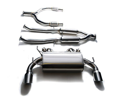ARMYTRIX Stainless Steel Valvetronic Catback Exhaust System Dual Blue Coated Tips Infiniti G37 S Coupe 08-13