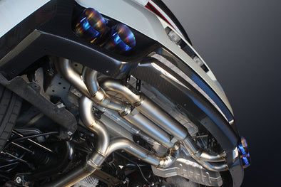 Mine's R35 GTR Titan Competition Exhaust Affinis Motor Sports