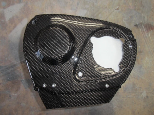 RB26 / RB25 Carbon Belt Cover w/ N-VCT