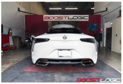 BOOST LOGIC LEXUS LC500 EXHAUST Affinis Motor Sports