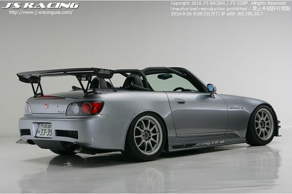 J's Racing S2000 3D GT Wing Type 2 Dry Carbon