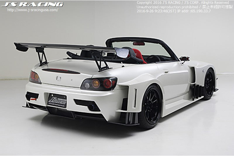 J's Racing Widebody Aero system Type GT Carbon / FRP