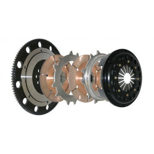 COMPETITION CLUTCH 4-6054-C | 184MM RIGID TWIN DISK CLUTCH KIT, NISSAN 240SX 2.4L (FROM 7/90) DOHC (KA24DE); 1991-1998