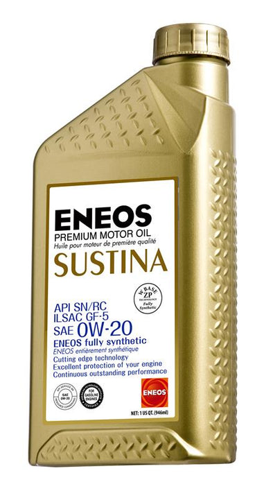 ENEOS SUSTINA FULLY SYNTHETIC MOTOR OIL