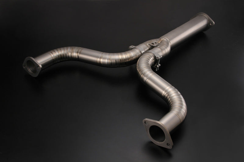 Tomei Full Titanium Mid Y Pipe - Nissan Z34 370Z 2009-2015+