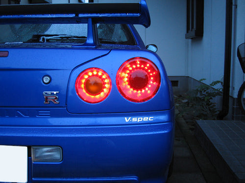 Nismo GT R34 LED Tail Lights