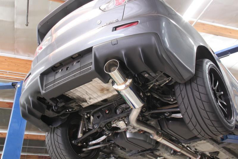 Full Race Mitsubishi Evo X 3″ Cat-Back Exhaust System