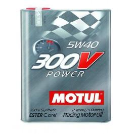 Motul 300V Power Racing Synthetic Oil 5w40 2L Bottle 104242