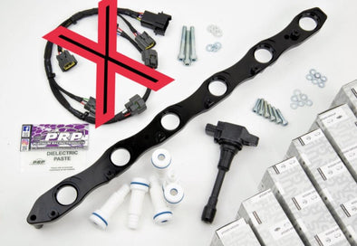 PRP RB R35 VR38 COMPLETE COIL BRACKET KIT (NO LOOM)(RB20 RB25 RB26)