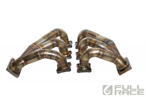 Full Race Porsche 993 EFR IWG Twin Turbo Manifolds