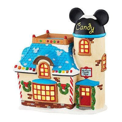 Dept 56 Disney 2015 Mickey's Candy Shop #4047183 NIB FREE SHIPPING 48 STATES