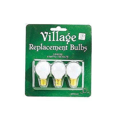 Dept 56 Replacement Round Light Bulbs #99245 FREE SHIPPING 48 STATES