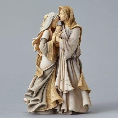 Foundations Masterpiece Holy Family #4047697 NIB FREE SHIPPING 48 STATES