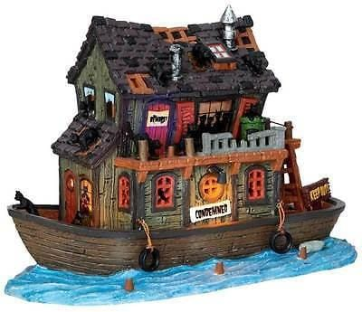 Lemax 2015 Haunted Houseboat #45666 NIB FREE SHIPPING 48 STATES