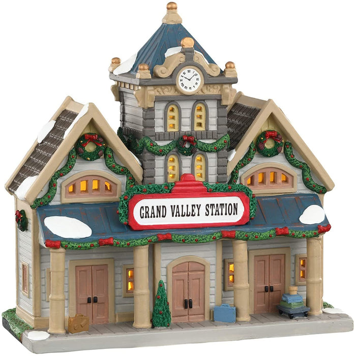 Lemax Grand Valley Station   #05669   Free Shipping