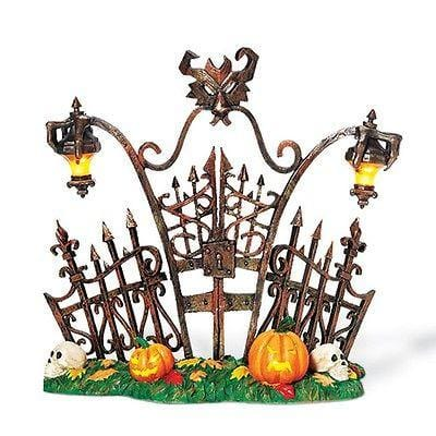 Dept 56 Halloween Gothic Gate #800027 FREE SHIPPING 48 STATES
