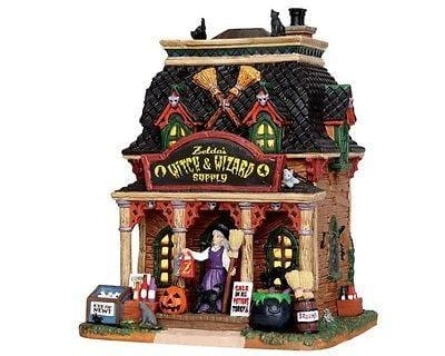 Lemax 2014 Halloween Zelda's Witch & Wizard Supply #35601 NIB FREE SHIP OFFER