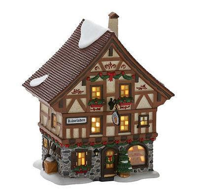 Dept 56 Alpine 2012 Basel Cheese Shop #4025236 NIB FREE SHIPPING 48 STATES