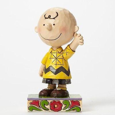 Jim Shore Peanuts 2015 Charlie Brown Personality Pose NIB FREE SHIP 48 STATES