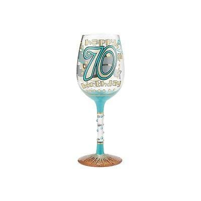 Lolita Wine Glasses 2017 70th Birthday #6000740    FREE SHIPPING 48 STATES