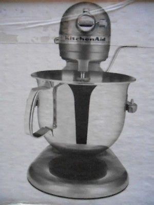 KitchenAid Professional 1hp 6.0 Qt Mixer Silver NEW