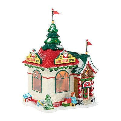 Dept 56 North Pole 2013 Holiday Special Jolly Fellow Toy Co. #4035571 NIB