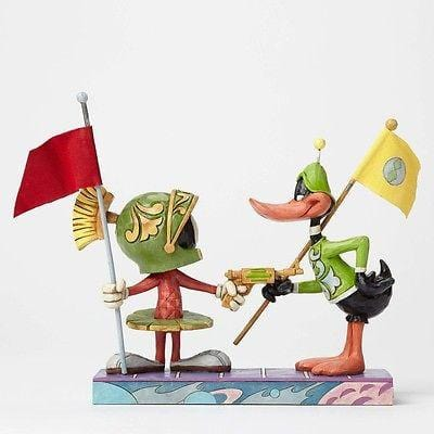 Jim Shore Looney Tunes 2015 Marvin & Duck Dodgers #4049388 NIB FREE SHIP 48 STAT