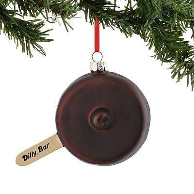 Dept 56 2015 Dairy Queen Dilly Bar Ornament #4045041 NEW FREE SHIP 48 STA