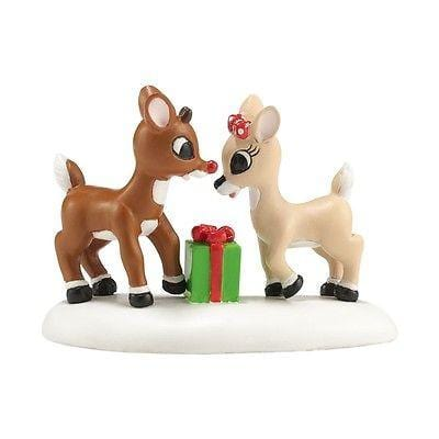Dept 56 North Pole 2014 A Gift From Rudolph #4036555 NIB FREE SHIPPING 48 STATES