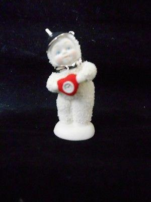 Dept 56 Snowbabies Wizard Of Oz You've Got Heart Baby #808709 NIB FREE SHIP 48 S