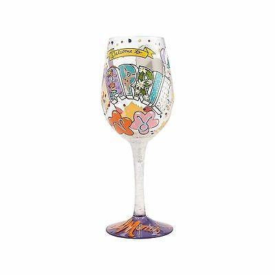 Lolita Wine Glasses April Birthday #4058064     FREE SHIPPING 48 STATES