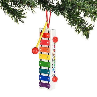 Dept 56 2014 Fisher Price Pull-A-Tune Xylophone Ornament #4036385 FREESHIP OFFER