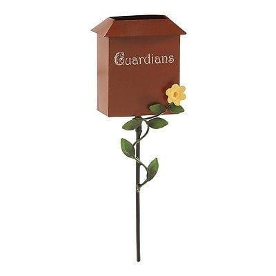Dept 56 Garden 2015 Guardian Mailbox #4051214 NEW FREE SHIPPING 48 STATES