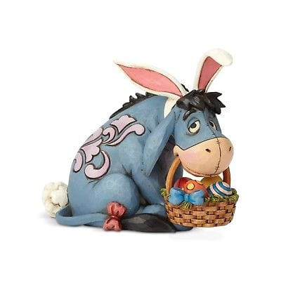 Jim Shore Disney Traditions 2018 Eeyore As Easter Bunny #6001284   Free Shipping 48 States