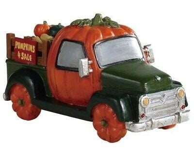 Lemax Halloween 2019 Pumpking Truck #93445 Free Shipping 48 States 2019