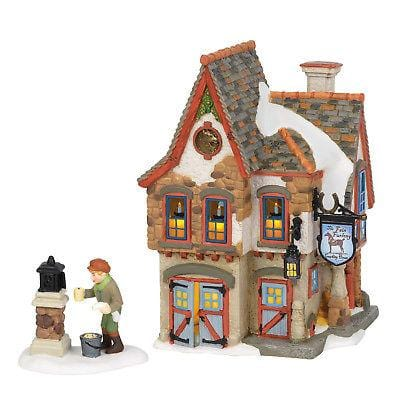 Dept 56 Snow Village 2018 Welcoming Christmas #6002296 NIB   Free Shipping 48 States   2018