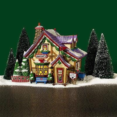Dept 56 North Pole Mickey's Cratchet's Cottage #56901 NIB FREE SHIPPING 48 STATE