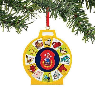 Dept 56 2015 Fisher Price See N Say Ornament #4040607 NEW FREE SHIP 48 STATES
