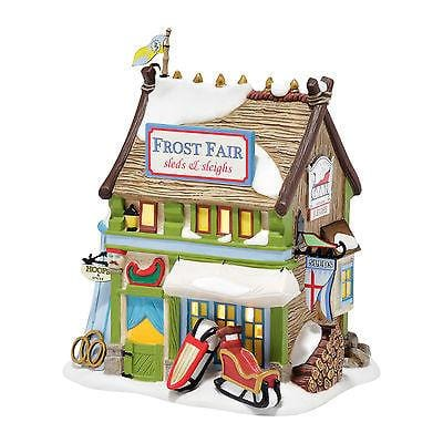 Dept 56 Dicken's 2016 Frost Fair Sled & Sleigh Rental #4044805