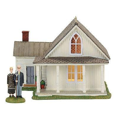 Dept 56 New England 2017 American Gothic Set/2 #4056684